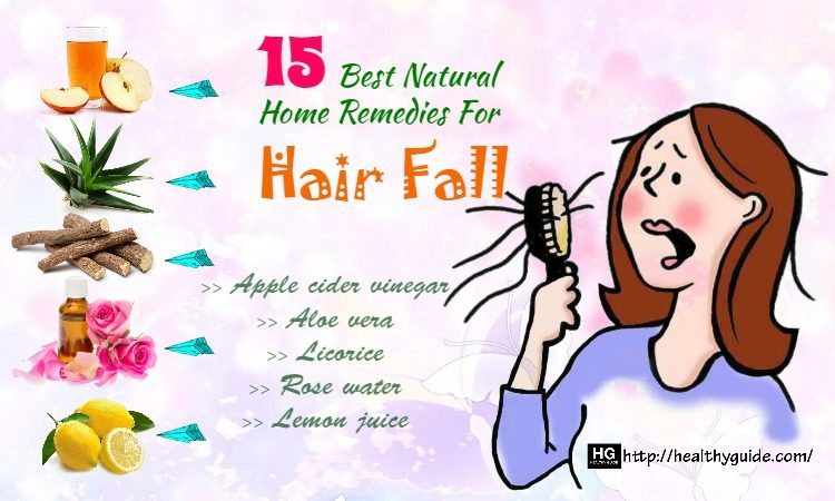 15 Best Natural Home Remedies for Hair Fall Treatment and Prevention