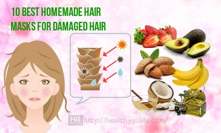 10 Best Homemade Hair Masks for Damaged Hair Recipes