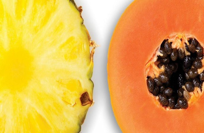 how-to-get-rid-of-a-black-eye-pineapple-and-papaya