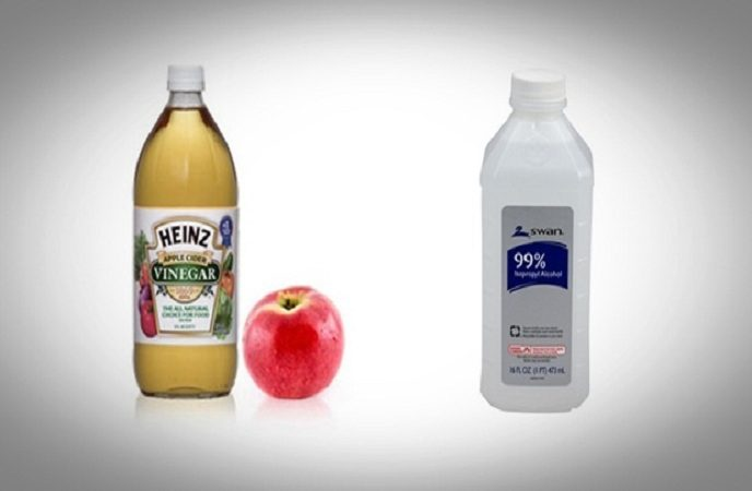 Alcohol And Apple Cider Vinegar