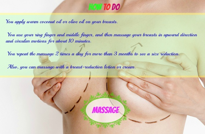 How To Reduce Breast Size – Massage