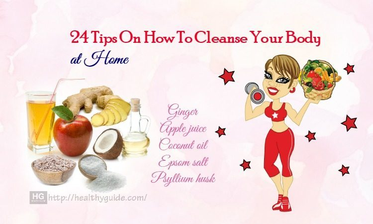 24 Tips How to Cleanse Your Body and Mind from Fat, Sugar, & Alcohol