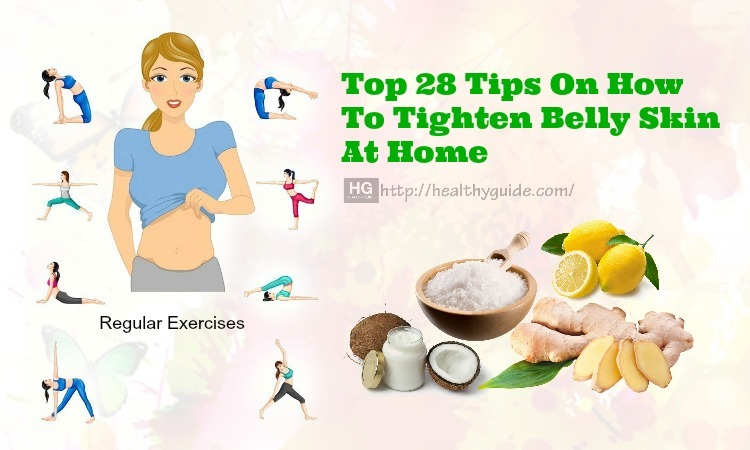 28 Tips How to Tighten Belly Skin after Weight Loss & Delivery Fast
