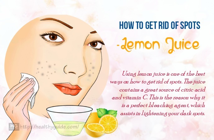 How to get rid of spots