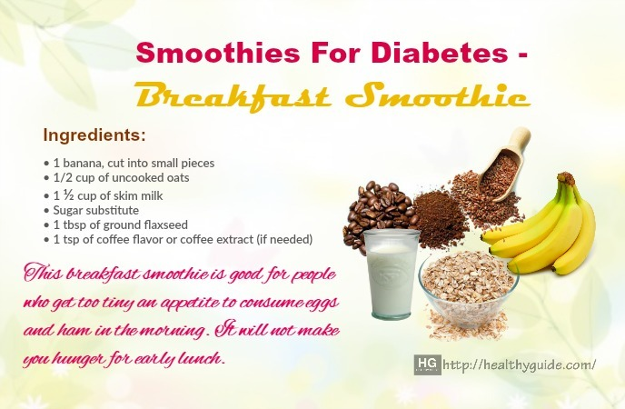 Smoothies For Diabetes