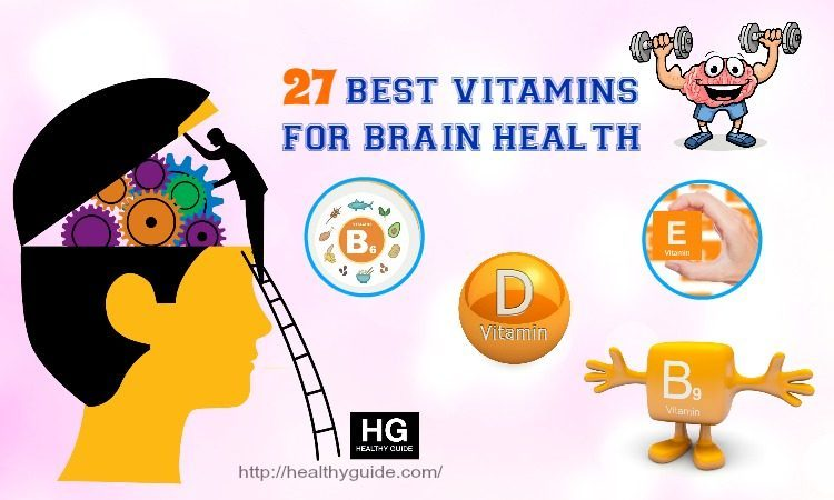 27 Vitamins for Brain Health Improvement in Adults and Kids