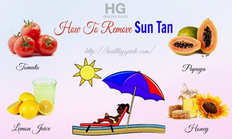 34 Tips How to Remove Sun Tan on Face, Neck, Hands, & Legs Naturally
