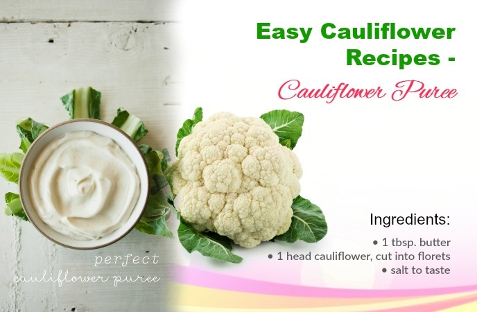 Easy Cauliflower Recipes
