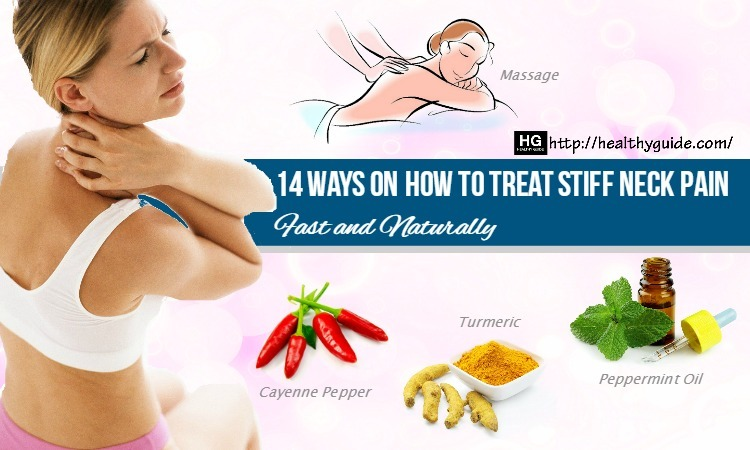 14 Ways How to Treat Stiff Neck Pain after Sleeping Fast & Naturally