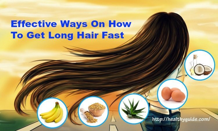 27 Tips How to Get Long Hair Fast & Naturally for Men and Women
