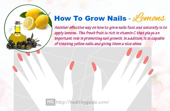 how to grow nails