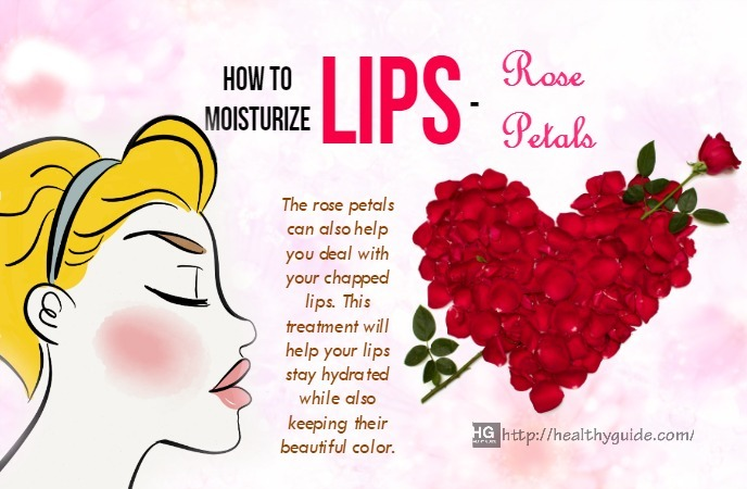 how to moisturize lips