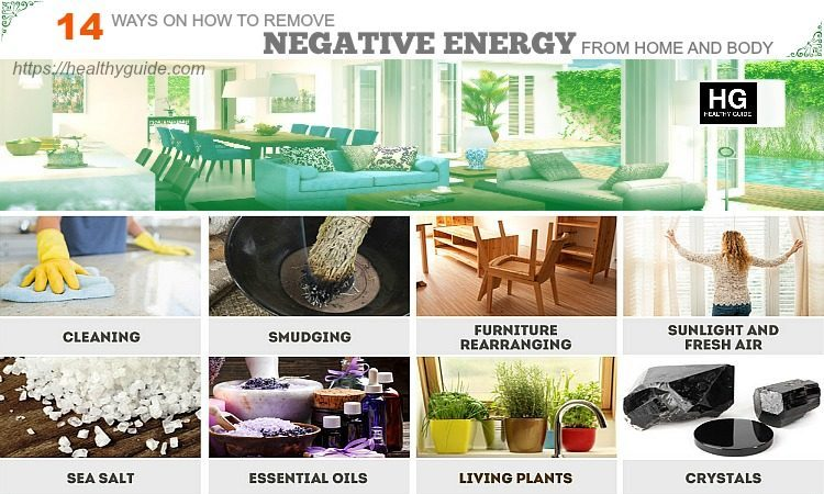 14 Tips How to Remove Negative Energy from Home and Body