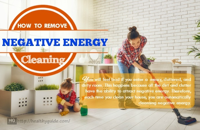 how to remove negative energy