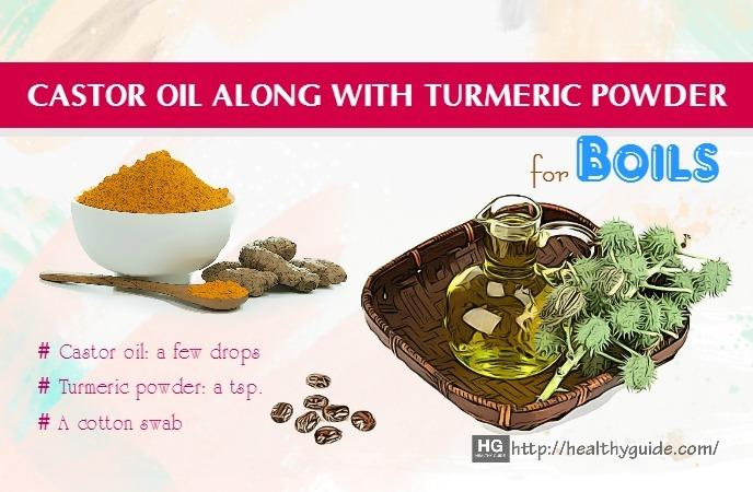 castor oil for boils