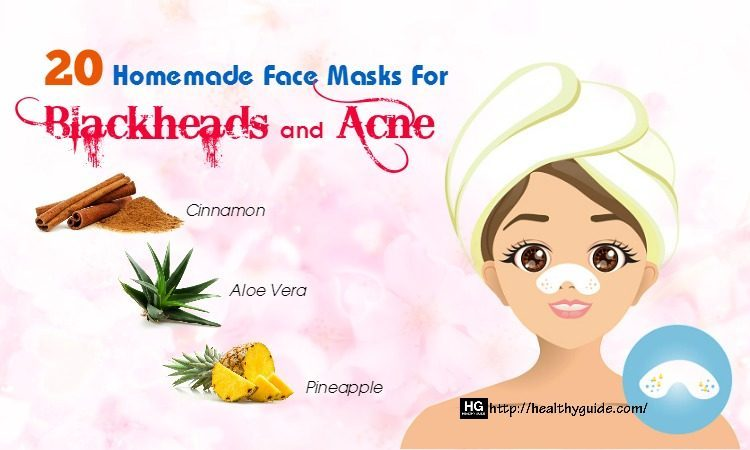 20 Best Homemade Face Masks for Blackheads and Acne Breakouts