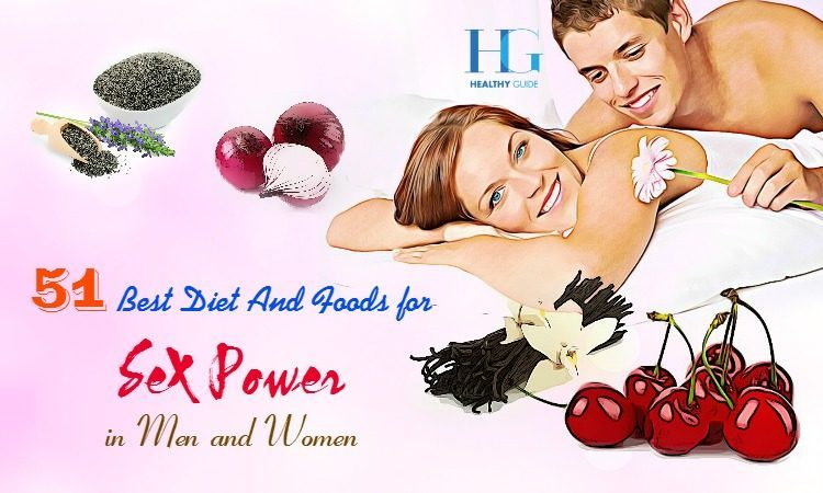 51 Best Diet and Foods for Sex Power for Men and Women