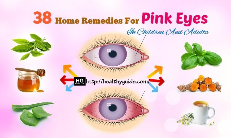 38 Home Remedies for Pink Eyes in Children and Adults