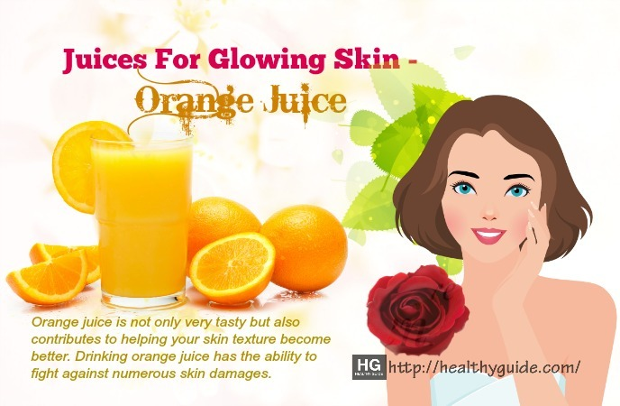 juices for glowing skin