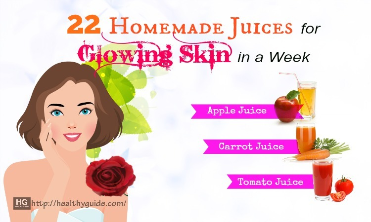 22 Best Homemade Juices for Glowing Skin in a Week