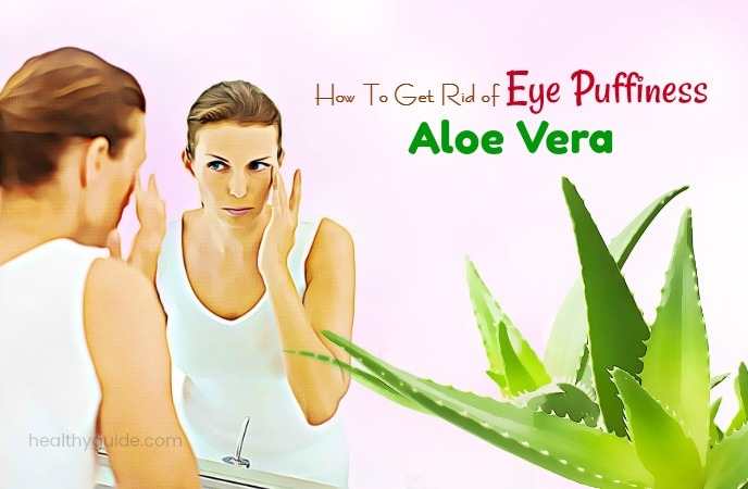 how to get rid of eye puffiness