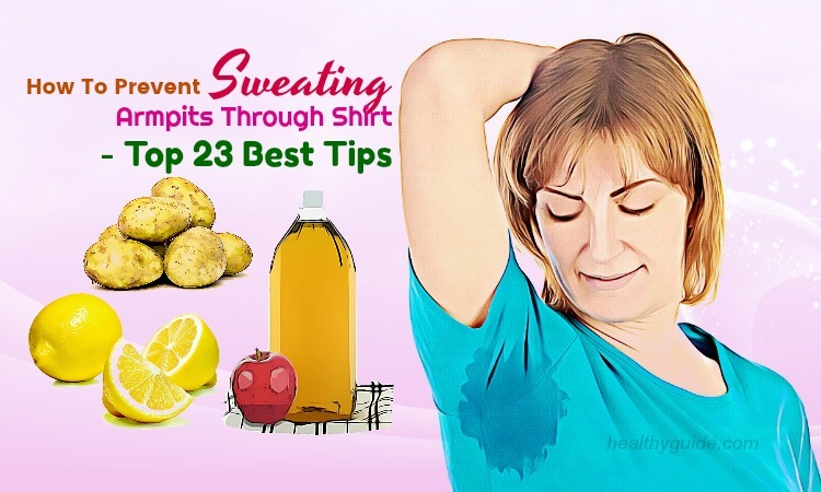 23 Tips How to Prevent Sweating Armpits, Hands, Feet, & Face for Guys