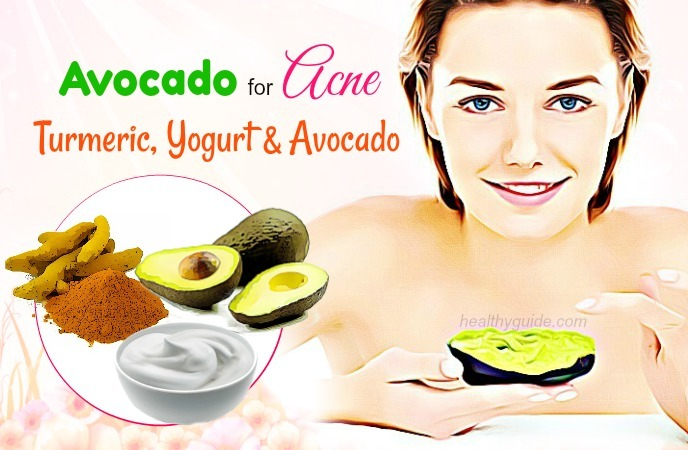 avocado for acne