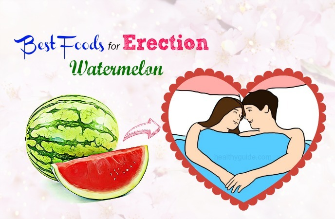 foods for erection