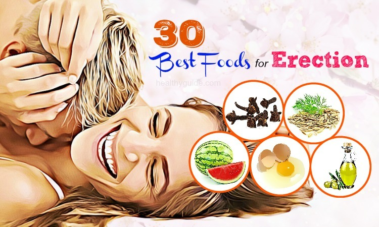Top 30 Best Foods for Erection Strength and Power Men Should Know!