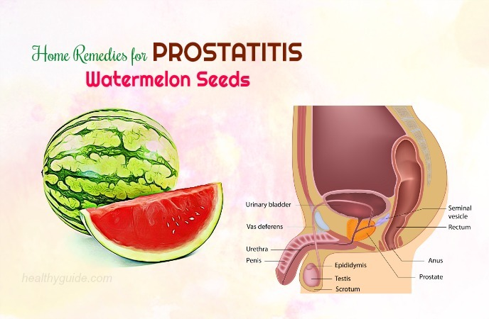 home remedies for prostatitis