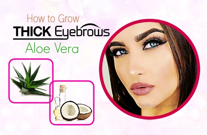 how to grow thick eyebrows