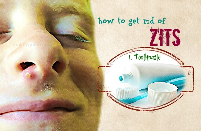 how to get rid of zits