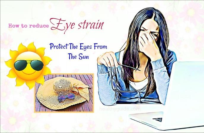 how to reduce eye strain