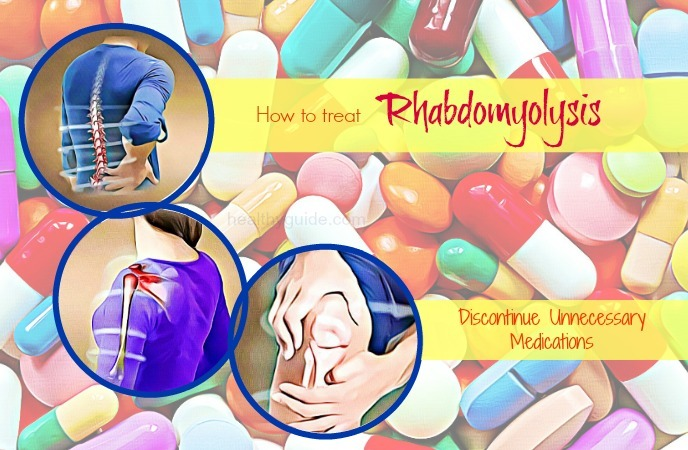 how to treat rhabdomyolysis