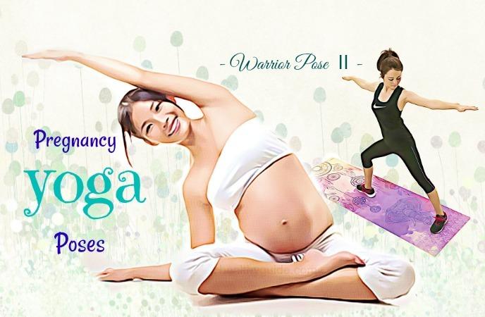 pregnancy yoga poses