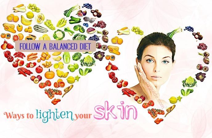 ways to lighten your skin