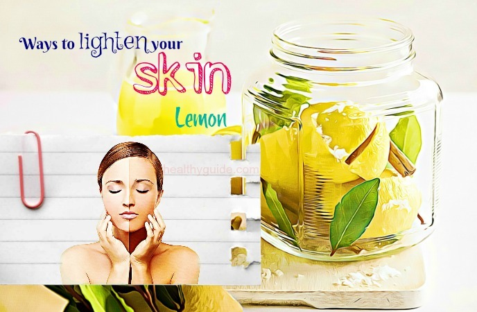 ways to lighten your skin