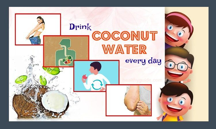 35 Things Happen for Skin & Health if You Drink Coconut Water Every Day