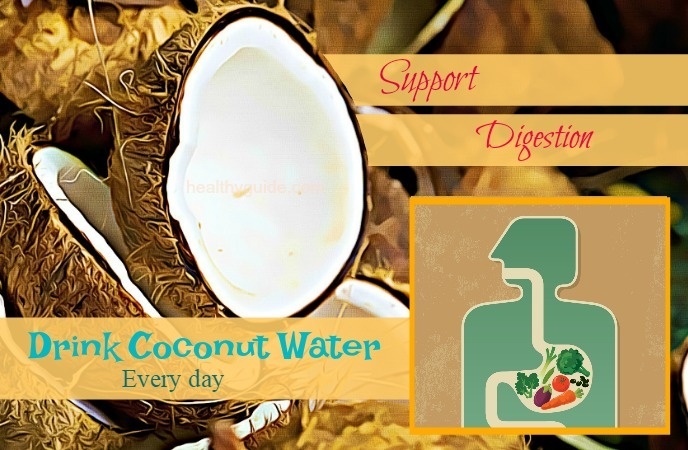 drink coconut water every day