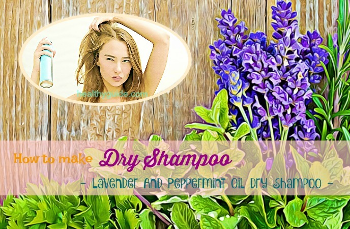 how to make dry shampoo