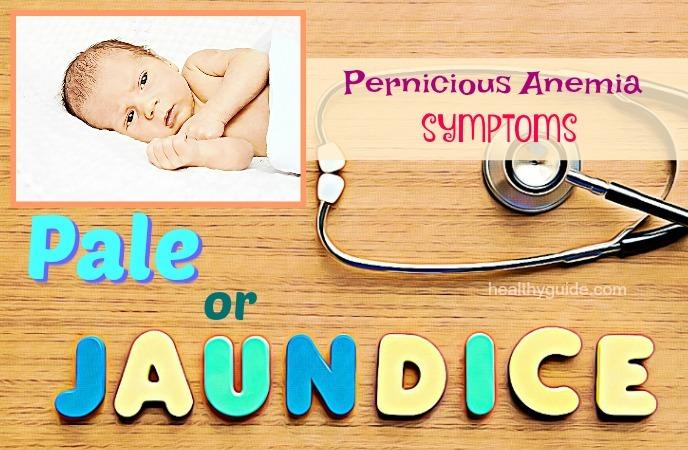 pernicious anemia symptoms