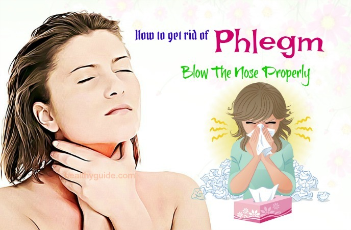 how to get rid of phlegm