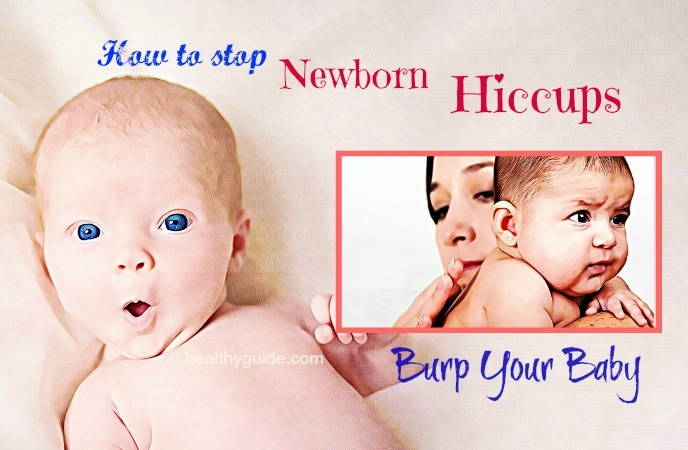 how to stop newborn hiccups