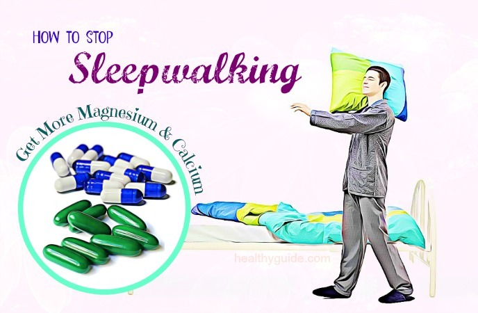 how to stop sleepwalking