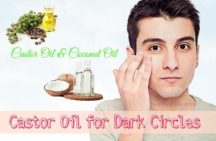 castor oil for dark circles