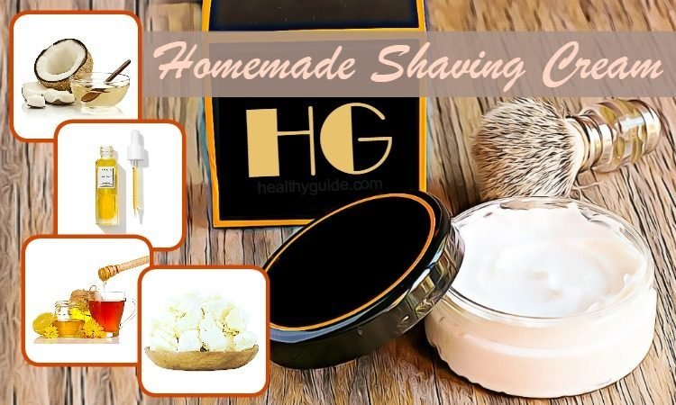 Top 26 Easy Homemade Shaving Cream For Men And Women