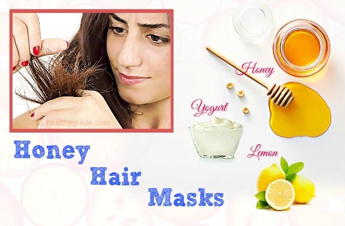honey hair masks