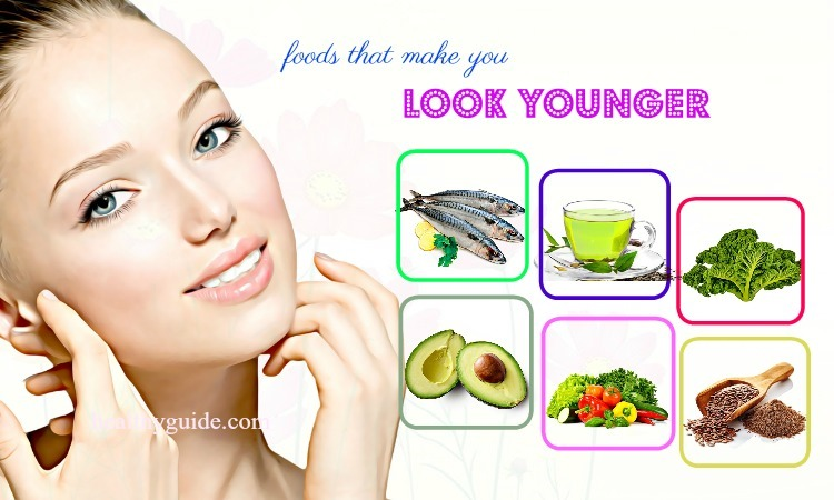 49 Healthy Foods that Make You Look Younger than Your Age and Beautiful