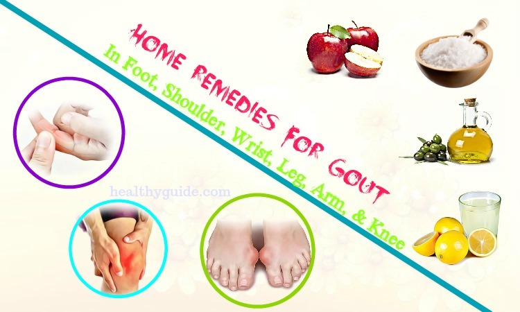 38 Home Remedies For Gout In Foot, Shoulder, Wrist, Leg, Arm, & Knee
