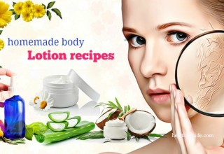 Top 17 Best Easy Homemade Body Lotion Recipes for Dry Skin